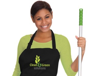 Clean & Green Model in Apron 3